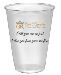 fill your cup up first then give from your overflow